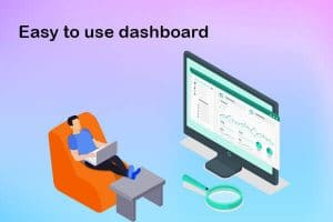 easy to use dashboard