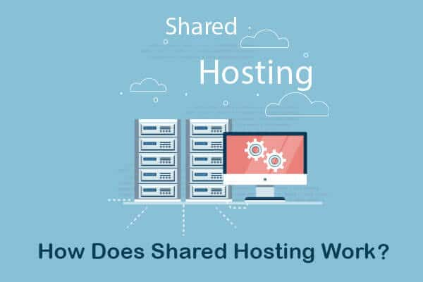 how does shared hosting work