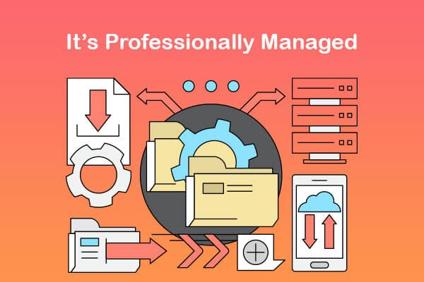 it is professionally managed