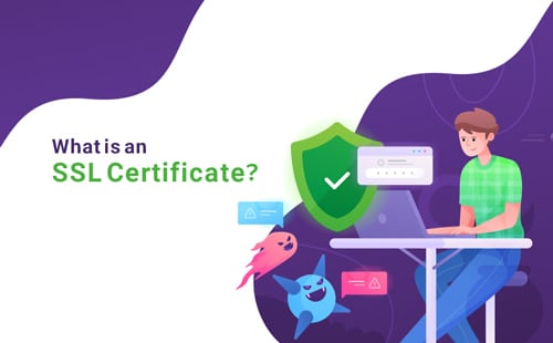 the SSL technology aids in encrypting an internet connection and protect any data transmitted between a client and a web server