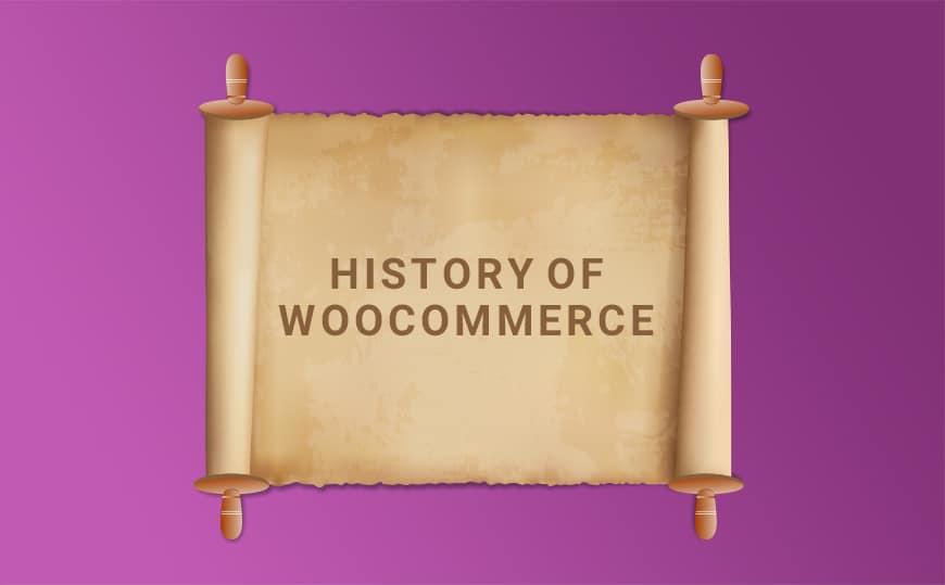 History of WooCommerce WordPress