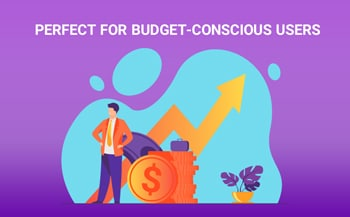 Perfect for budget-conscious users