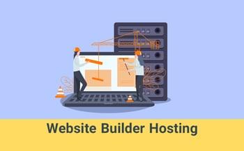 website builder hosting