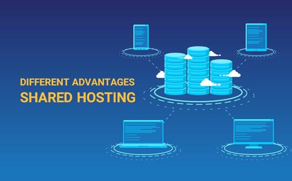 different advantages shared hosting