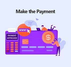Make the Payment