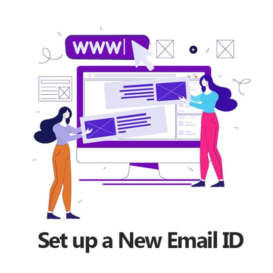 Set up a New Email ID