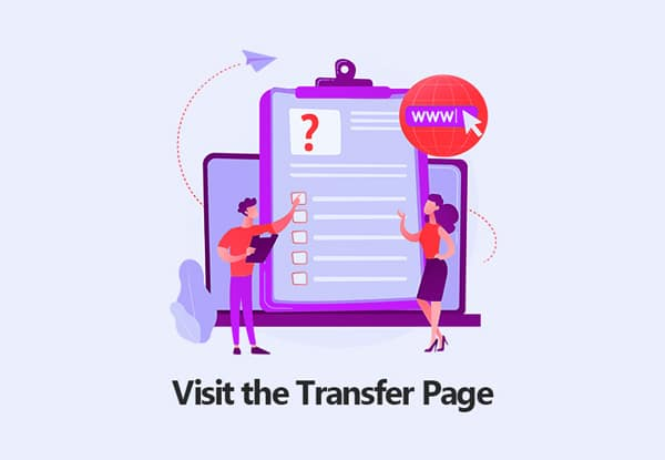 Visit the Transfer Page