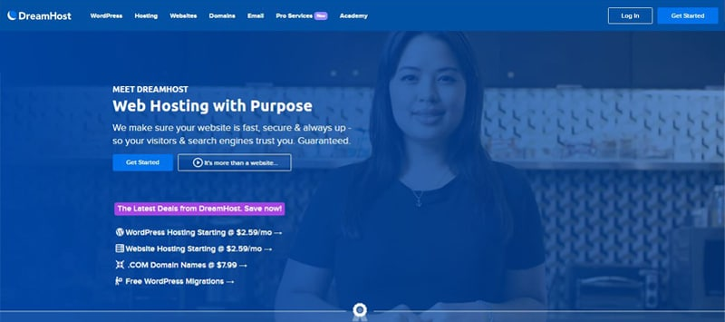 dreamhost site