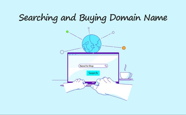 searching and Buying Domain Name