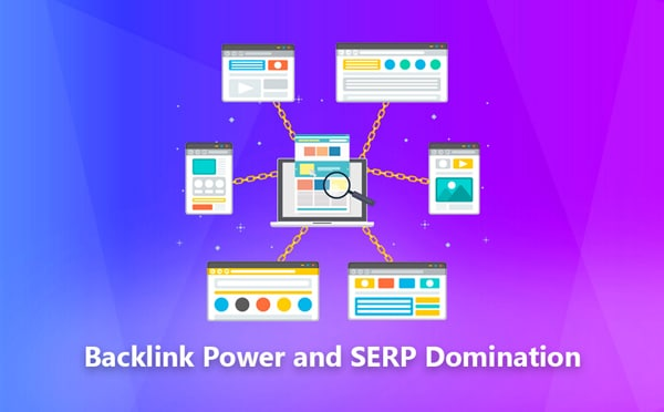 Backlink Power and SERP Domination