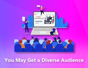 You May Get a Diverse Audience