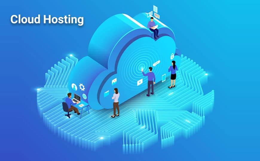 what is cloud hosting