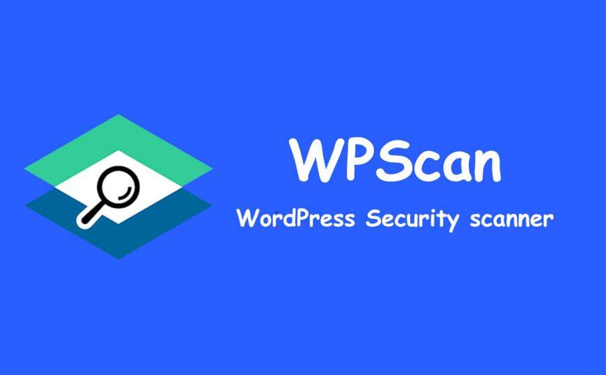 wpscan  wordpress security scanner
