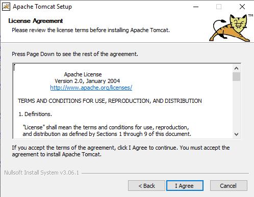 tomcat installation process