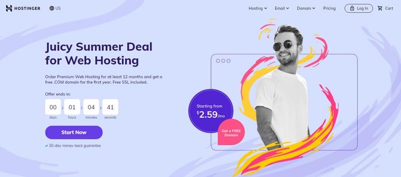 hostinger site