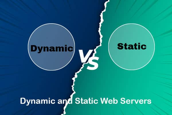 dynamic and static web servers